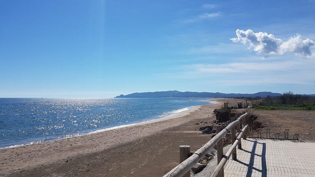 Playa griells- la Pletera